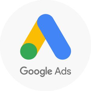 icono de google ads, empresa que ofrece anuncios pagados en búsquedas por palabra clave