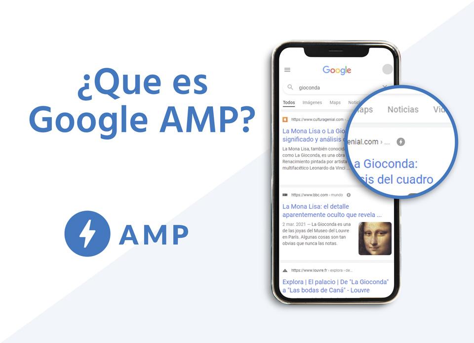 ¿Qué es Google AMP y dónde aparece?